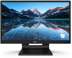 "Philips 24"" 242B9T/00 (23.8"") Full HD (1920×1080) IPS W-LED PCAP 10P Touchscreen, 5ms, VGA/DVI-D/HDMI/DP, 2×USB3.1, zvučnici, crni"