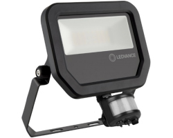 Ledvance reflektor floodlight LED 50W,4000K,5500lm,IP65, IK07,crni, senzor