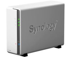 "Synology DS120j DiskStation 1-bay NAS server, 2.5""/3.5"" HDD/SSD podrška, 512MB, G-LAN"