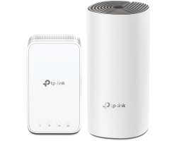 TP-Link AC1200 Deco E3 (2 pack) Whole-Home Mesh Wi-Fi, Dual-Band 300Mbps/867Mbps (2.4GHz/5GHz), 2×LAN, 2×interna antena, MU-MIMO, AP Mode, IPv6 Ready, Deco App, Cloud Support, Alexa & IFTTT