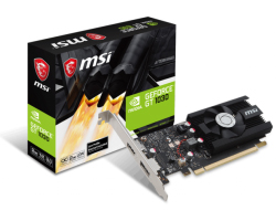 MSI GeForce GT 1030 2G, 2GB GDDR5/64-bit,  PCIe 3.0, HDMI/DP, Low Profile (GT1030 2G LP OC)