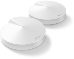 TP-Link AC2200 Deco M9 Plus (2 pack) Tri-Band Whole Home Mesh Wi-Fi, 400Mbps/867Mbps×2 (2.4GHz/5GHz×2), 2×GLAN, 1×USB, BT4.2, MU-MIMO, AP Mode, IPv6 Ready, Deco App, Cloud Support