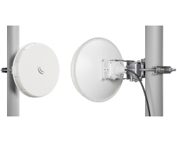 Mikrotik Wireless Wire nRAYG-60ad (2×LHGG-60ad za 60Ghz link), 60GHz antena, 802.11ad, two core 1.2GHz CPU, 256MB RAM, 1xG-LAN, RouterOS L3, POE, PSU