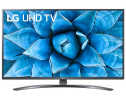 "LG 50"" (127cm) 50UN7400 4K UHD Smart TV, DVB-T2/S2/C, CI+, Ant/Sat, 3×HDMI/2×USB, Ultra Surround"