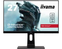 "IIYAMA 27"" G-Master Red Eagle GB2760QSU-B1 16:9 WQHD (2560×1440) TN LED, Pivot, FreeSync, 1ms, 144Hz, 350cd/m2, DVI/HDMI/DP/USB3.0×2, HDCP, zvučnici, crni"